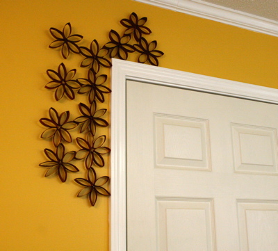 Door Frame Decoration diy door frame decor and tutorial | love people. like things.